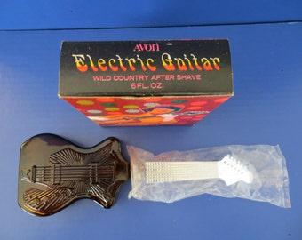 Vintage Avon Bottle Electric Guitar with box 1974-75