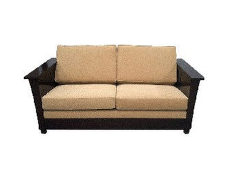 Queen sleeper-sofa  Mission Furniture Living Dining Room in Expresso finish