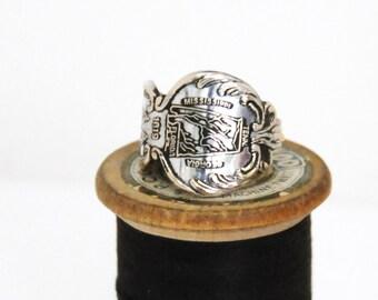 alabama ring, united states ring, spoon ring, american ring, alabama state ring