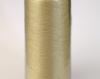 New 3500 m polyester sewing thread 3827 yards Spool Light Gold Machine Quilting Serger Sewing Machine Dressmaking