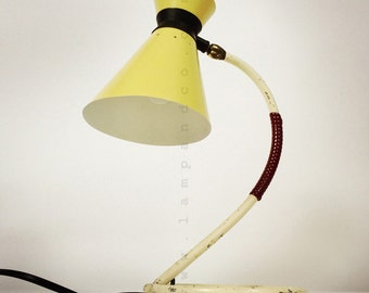 Elegant table lamp from the fifties.