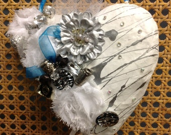 PUPPY LOVE...a handcrafted heart you will love!