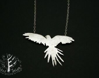 Parrot love pendant