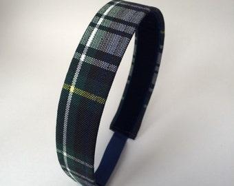 School Uniform Headband- Custom Plaid Uniform Headbands #1
