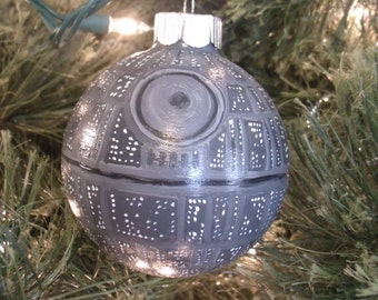 Deathstar Christmas Ornament