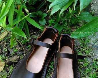 Leather sandals TREK Tex