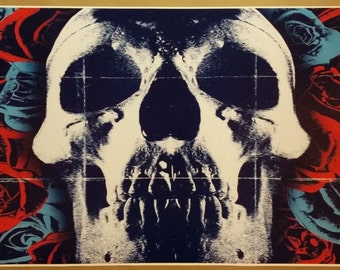 "Minerva Deftones Band  GIANT WIDE 42""x24"" Skull Album Cover Music Art Poster"