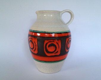 Dümler & Breiden  305  / 21 vintage Mid Century Modern  vase  from the 1960s / 1970s West Germany. WGP.