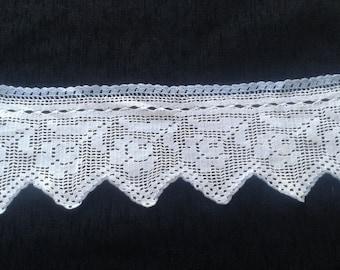 handmade crochet lace/Crocheted handmade lace