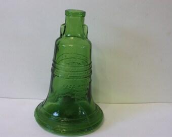 Wheaton Green Glass Liberty Bell