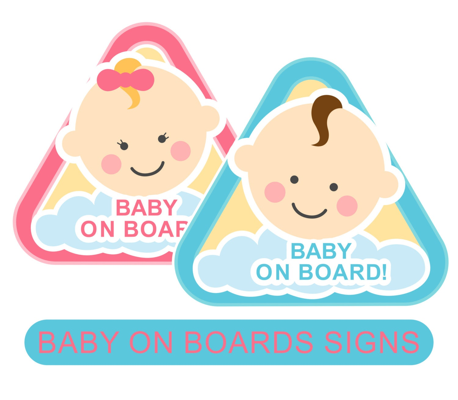clipart baby on board-#21