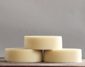 Organic Coconut Milk Shaving Soap|Sweet Almond Oil and White Clay