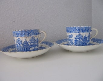 Two very old Mocca Cups from the thirties, they are very fine.
