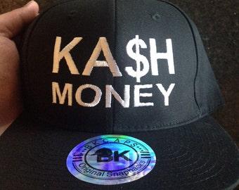 KASH money hat, Kash money Snapback, cash money Snapback, cash money hat,