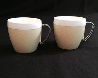 Vintage coffee cups, Mid Century Design, 1950's