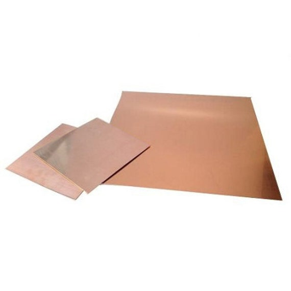 Copper 22 Ga 6x6 Sheet Metal Mm 43 603 From