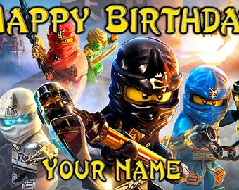 Ninjago Birthday Banner  (Ronin)
