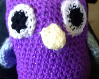 Crocheted Owl-Made to order
