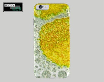 Yellow Bubbles Case for iPhones (Models 4, 5, 6)