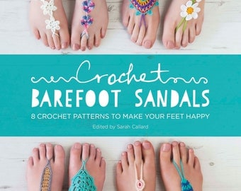 Crochet Barefoot Sandals eBook (803996)