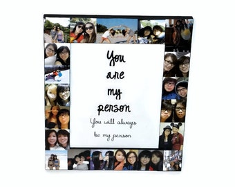 1 Year Anniversary Picture Frame Collage By Initialremembrance