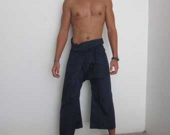 thai fishermans pants - gender neutral yoga pants - thai pants - wide leg pants - hippie pants - fisherman pant in different colors - harem
