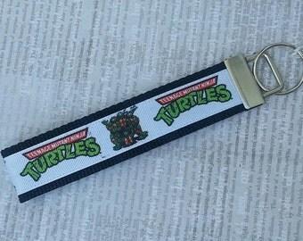 "3"" or 6"" Ninja Turtles Key Fob Key Chain"