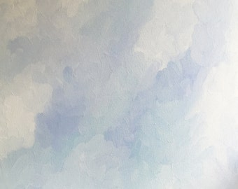 Whisper - Original Acrylic Painting - 20x20x1.5