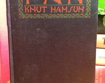 Pan by  Knut Hamsun 1921
