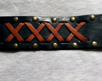 5 Different Colors Leather Wristband