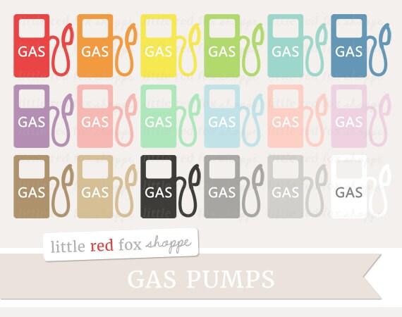 Gas Pump Clipart Planner Clip Art Car Reminder Gasoline Price