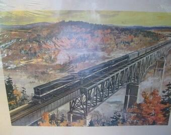 Gould Train Print