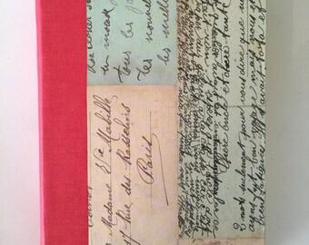 Vintage Letters Journal, Medium, Blank