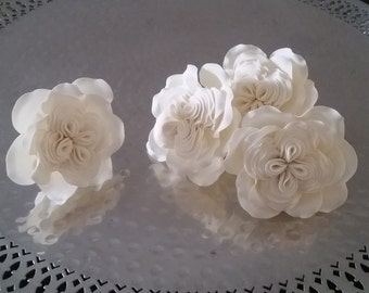 Sugar Cabbage Rose, Gumpaste Cabbage Rose