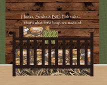 HOOK, LINE & SINKER Nursery Collection, Hunting Baby Bedding, Fishing Baby Bedding, Camo Baby Bedding - Design your own