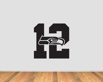 Seahawk 12 Vinyl Decal