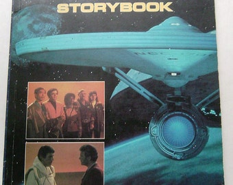 STAR TREK 111 The Search For Spock STORYBOOK Lawrence Weinberg 1984