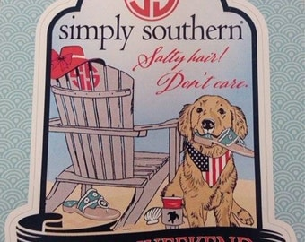Simply Southern - Beach Days - Decal