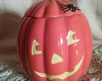 Hallmark  Pumpkin cookie jar jack o'lantern