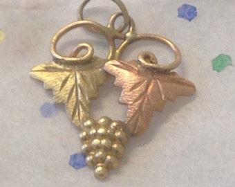 Black hills gold charm bracelet