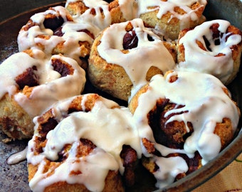Grain Free - PALEO Cinnamon Roll Baking Mix - naturally gluten free!  10.4oz