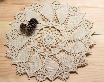 framed crochet wall hanging vintage home decor country. Black Bedroom Furniture Sets. Home Design Ideas