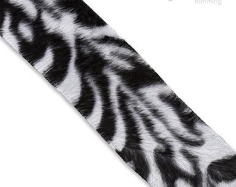 40mm Zebra Printed Trim :330042TR