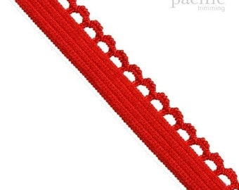 "3/8"" Picot Edge Ribbon :130901"