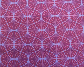 "Joel Dewberry fabric.   Heirloom Empire Weave.  Empire Weave, JD 54 Amethyst.   100% cotton fabric. 2 yard cut.  44"" wide."