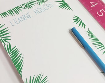 Custom Notepad - Personalized Palm Notepad