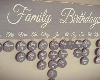 Family Birthdays
