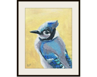 Blue Jay - Original Painting