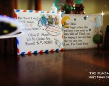 CUTE  EDITABLE MINI Tooth Fairy letter with envelope!!