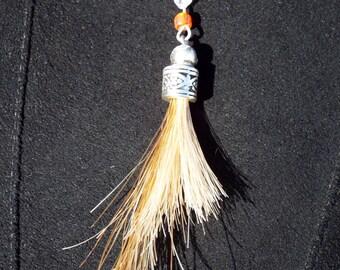 """Flaxen Horse Hair Charm - """"Emmy"""""""
